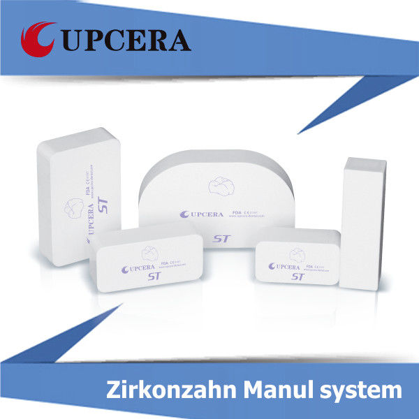 CE Yttria Stabilized Zirconia Ceramic , Zirconium Oxide Ceramic Fully Stabilized Zirconia